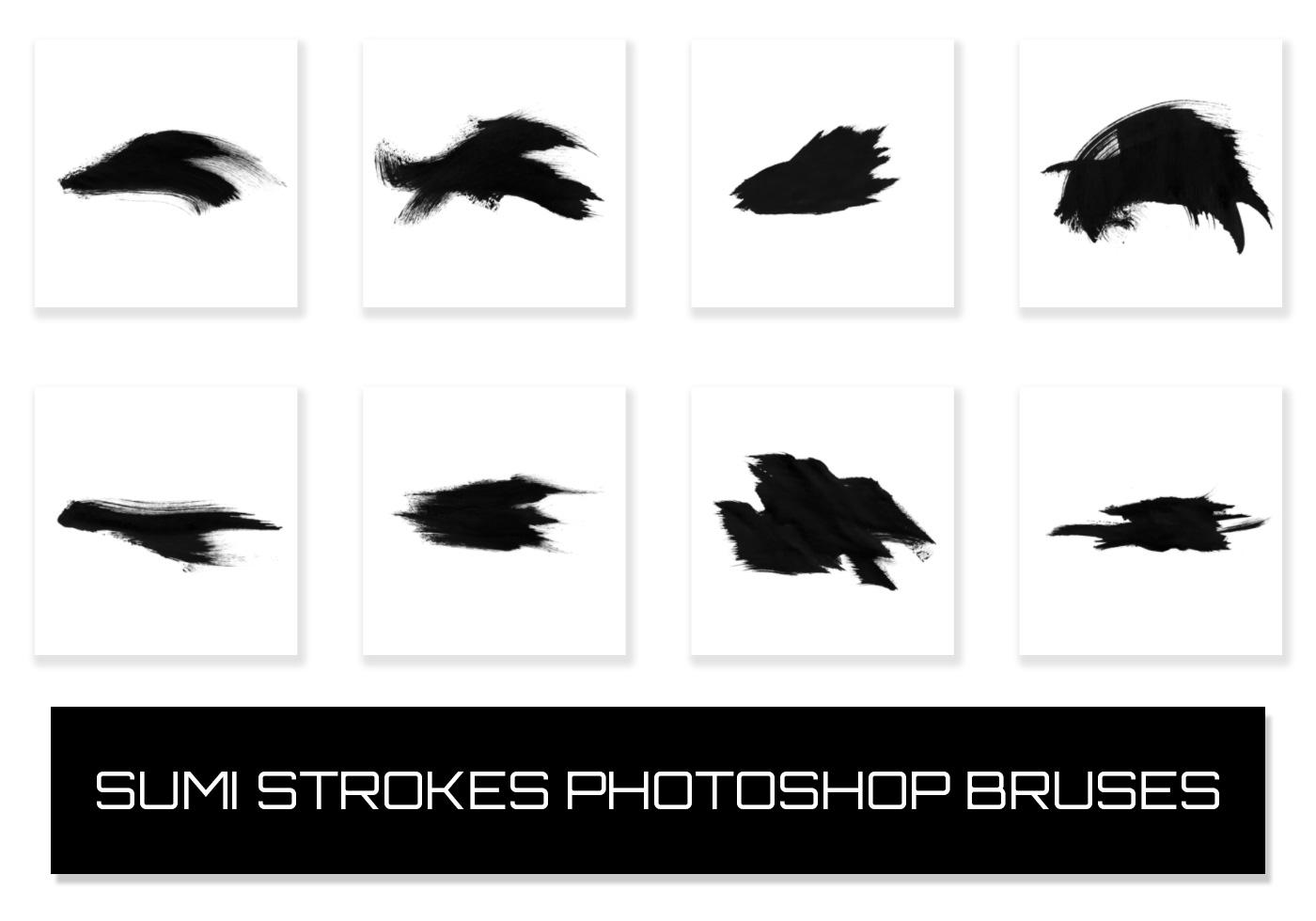 82 Sumi Strokes Free Photoshop Brushes At Brusheezy