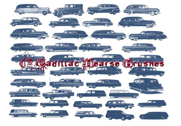 42 Cadillac Hearse Brushes