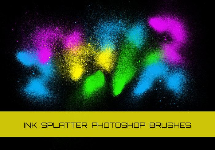 Pulverizadores Splatter de tinta suja