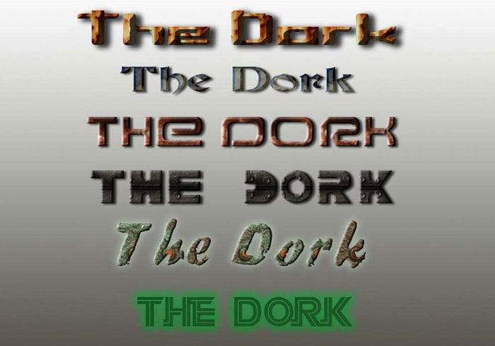 Die Dork Styles # 1