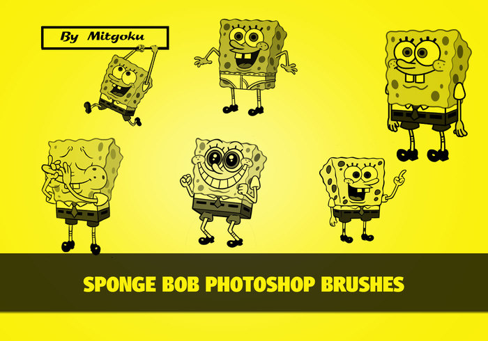 Spongebob brushes
