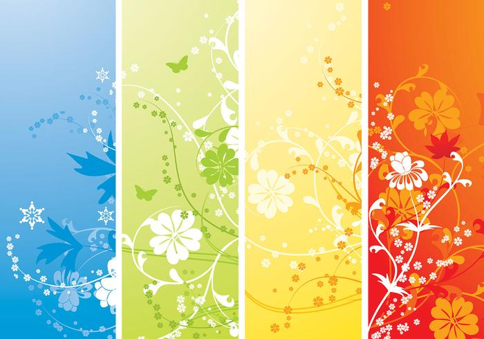 Four Seasons Photoshop Wallpaper Pack