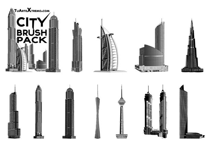 Sci Fi City Building