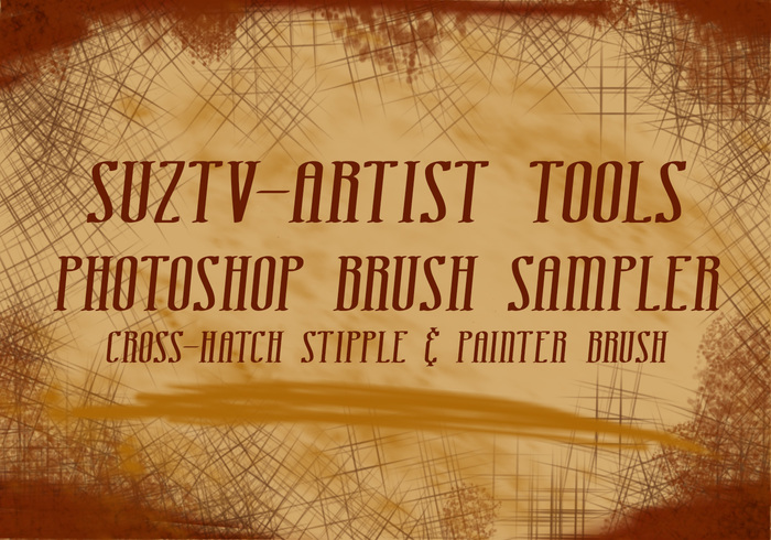 Artist Tools Photoshop Borstel