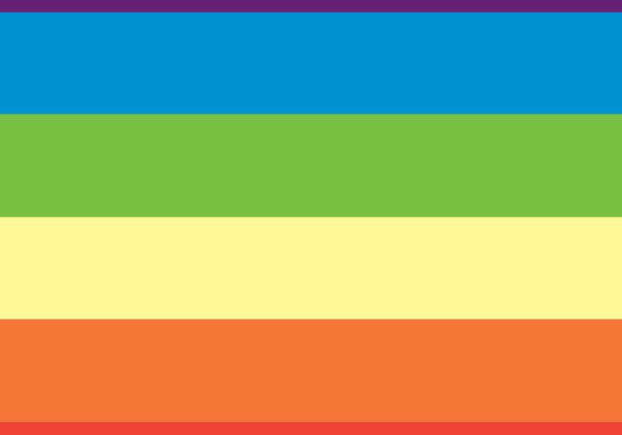 Rainbow Dash Rainbow Pattern