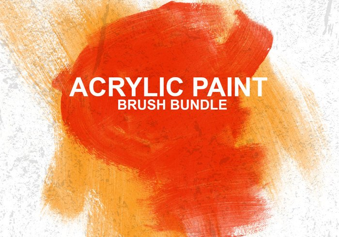 acrylic paint free photoshop brushes at brusheezy