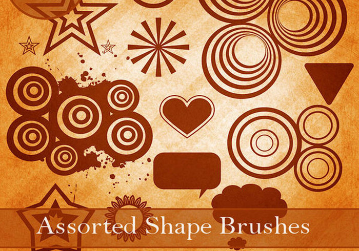 Assorted Shape Brushes