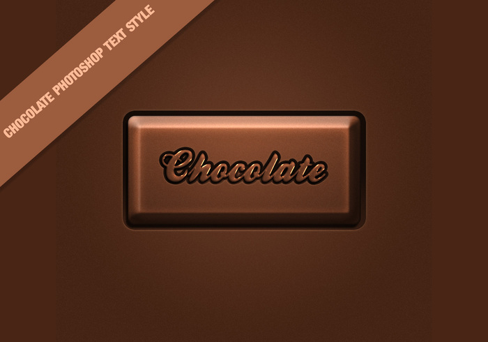 Choklad Text Style Effect