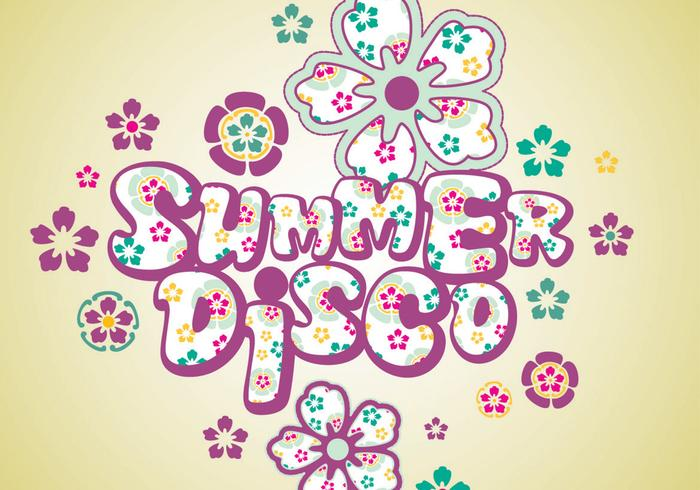 Summer Disco Wallpaper and Brush Pack