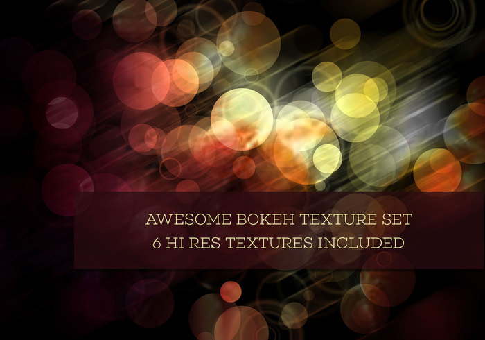 Free Digital Bokeh Textures