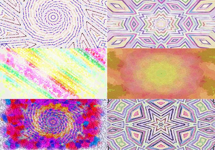 Kleurrijke Texturen