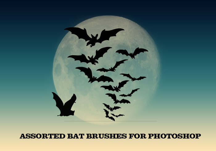 Vampire Bats Brushes