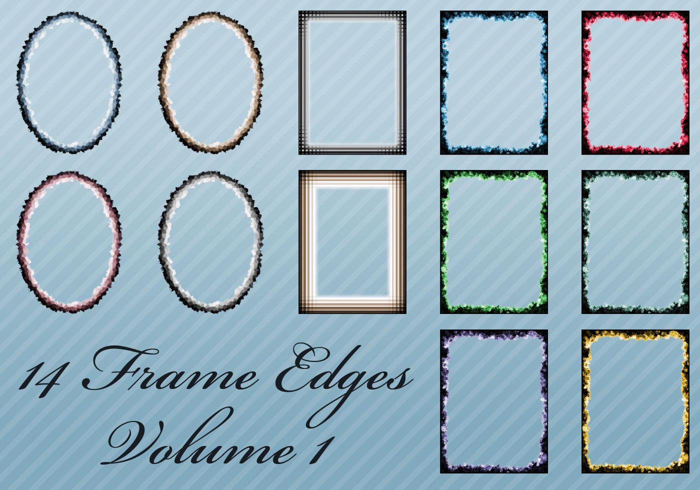 14 bordes del marco para Photoshop - ¡Pinceles de Photoshop gratis ...