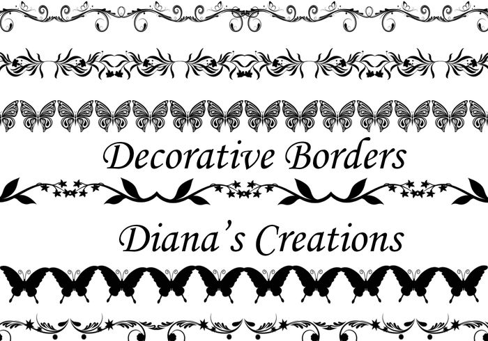Bordas decorativas