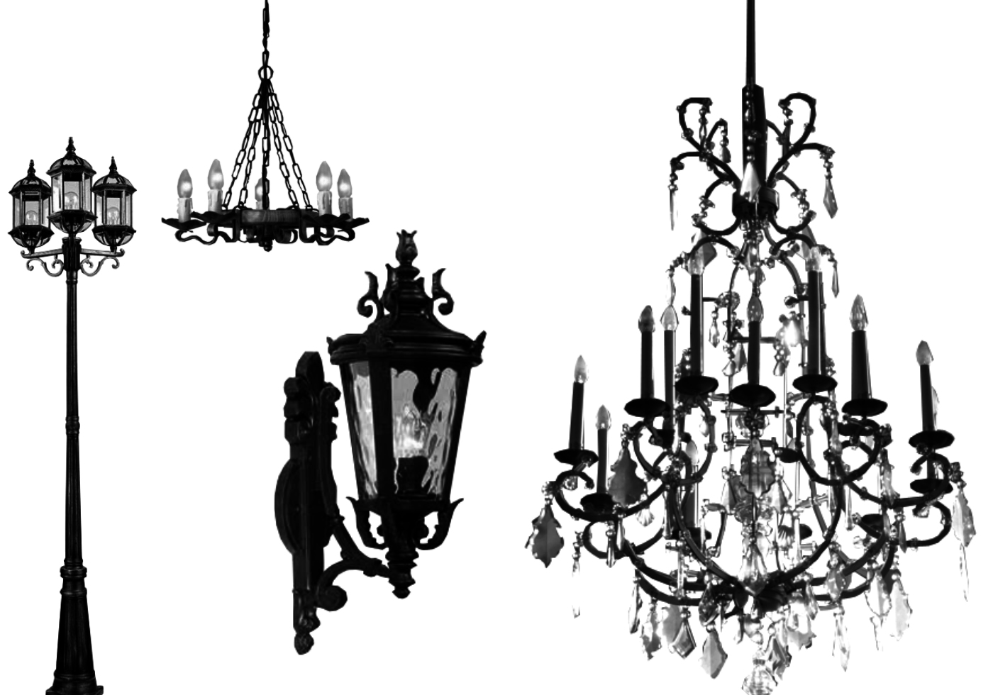 Free Lamps and Chandelier Brushes