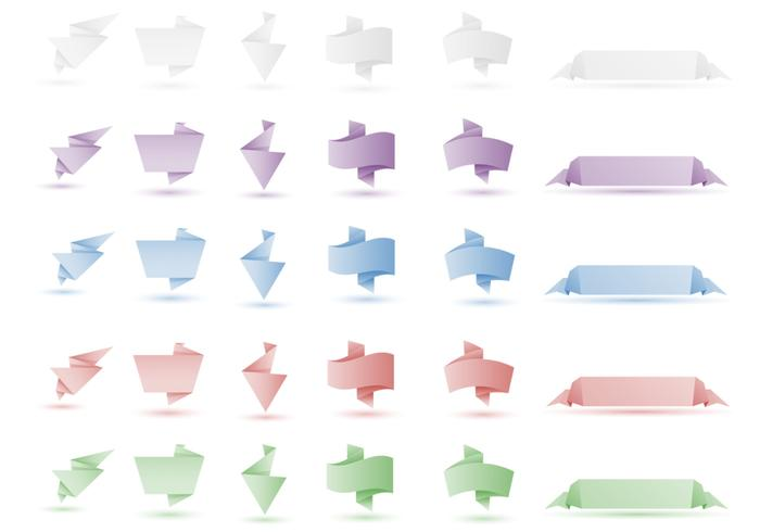 Origami Banner Brush Pack Two