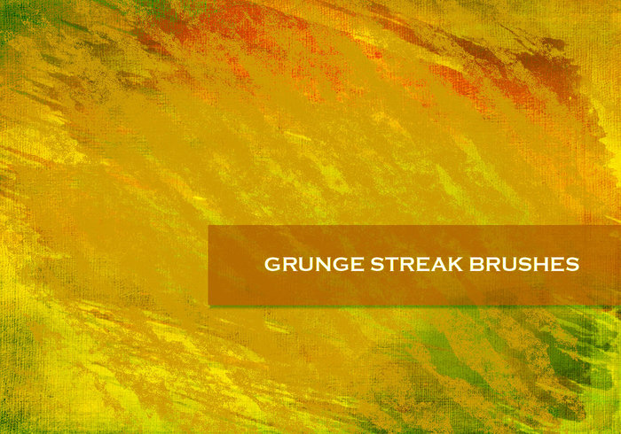24 Grunge Streak Brushes