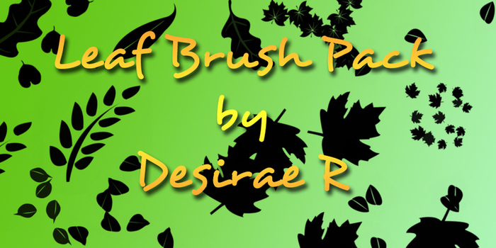 Leaf Brush Pack