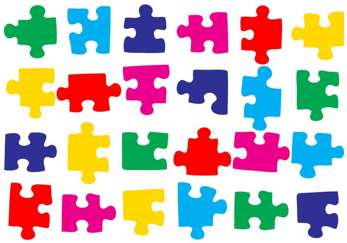 50 Puzzle Pieces Brushes