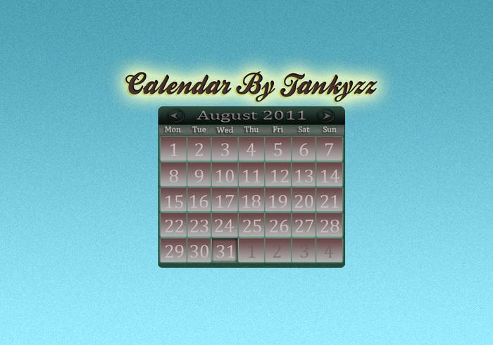 Kalender PSD Av Tankyzz