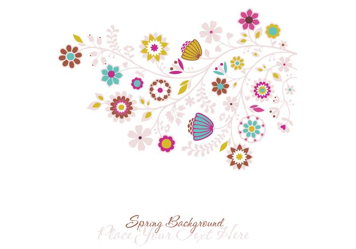 Spring Photoshop Background e Brush Pack