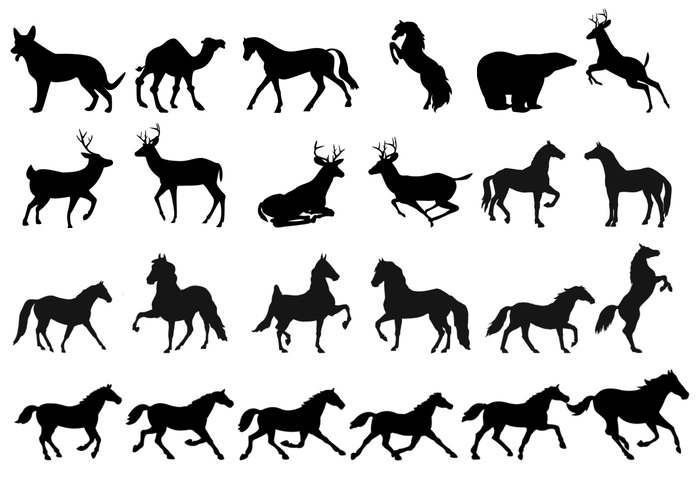 Land Animals Brushes