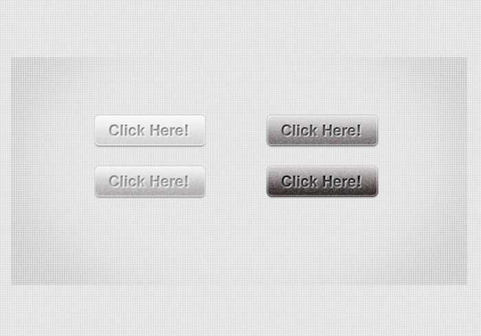 Grey Web Buttons PSDs