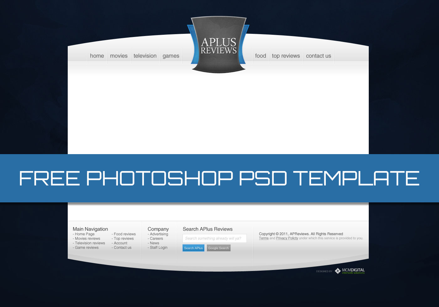 high quality review site template free photoshop brushes. Black Bedroom Furniture Sets. Home Design Ideas