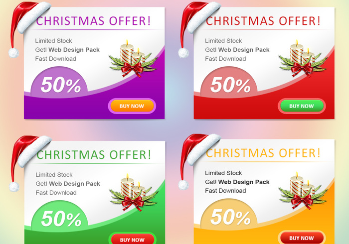 Jul Web Banner Set