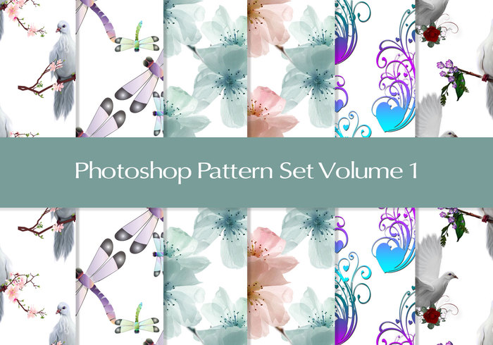Photoshop Patterns Volume 1