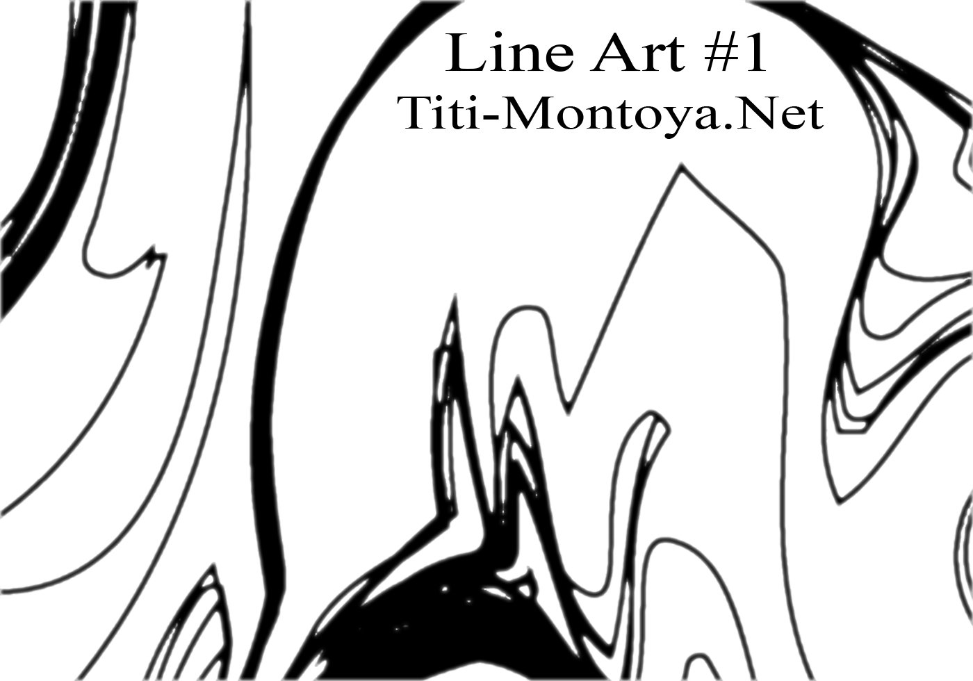 Line Art Brushes Photo : Line art abstract brushes