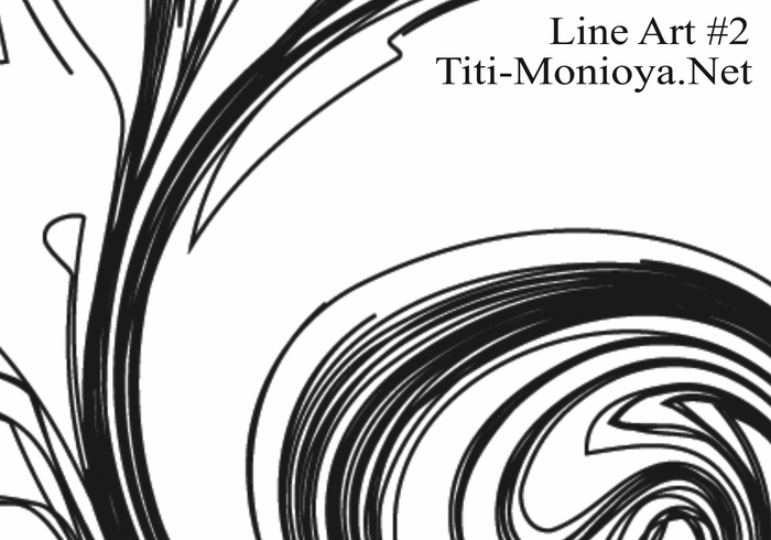 Line Art Brushes Photo : Free line art abstract brushes
