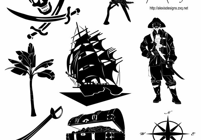 Pirates Shapes