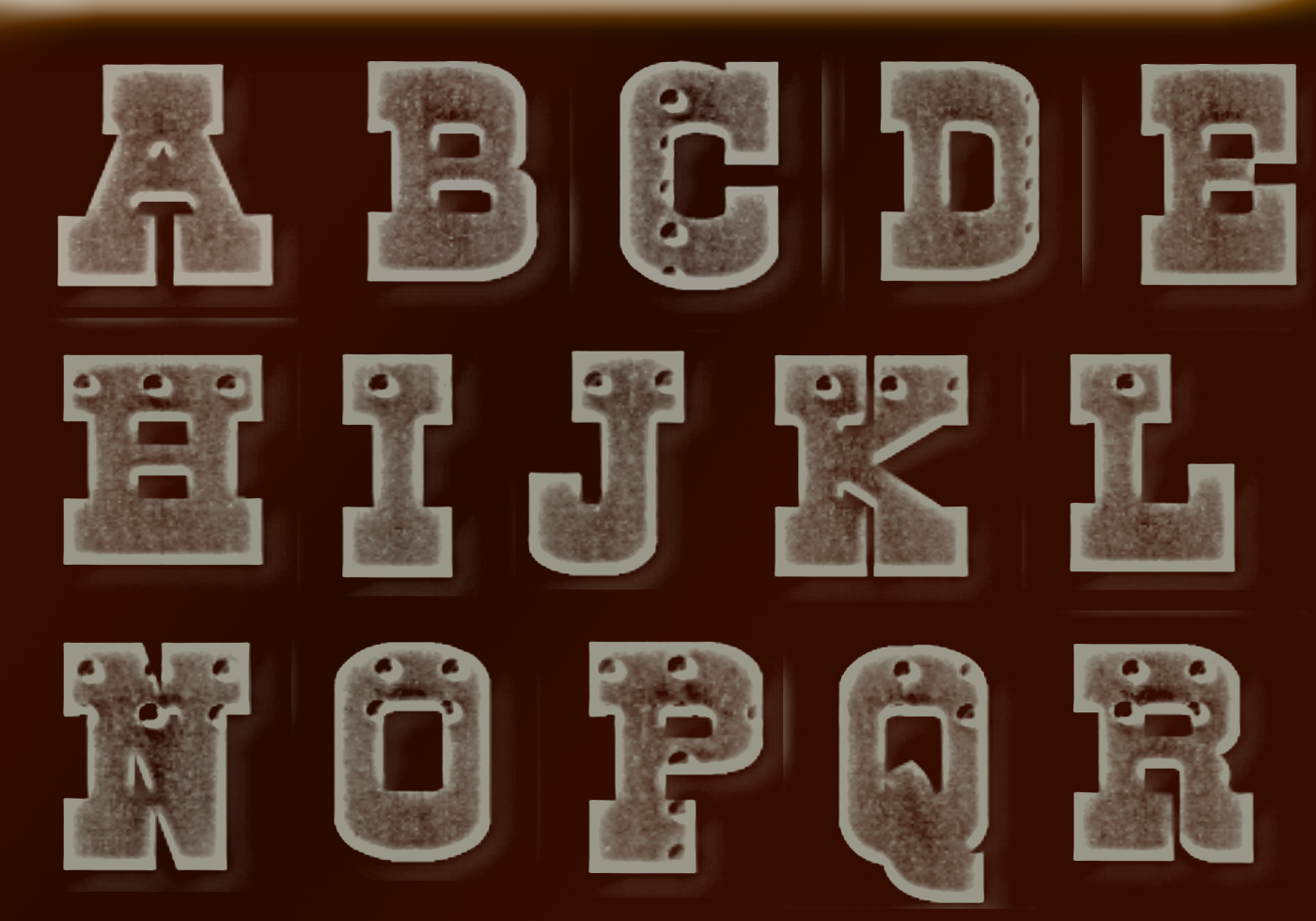 Old Metal Letters Extraordinary Metal Pattern Free Brushes  1069 Free Downloads Design Ideas