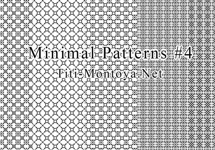Minimala mönster # 4