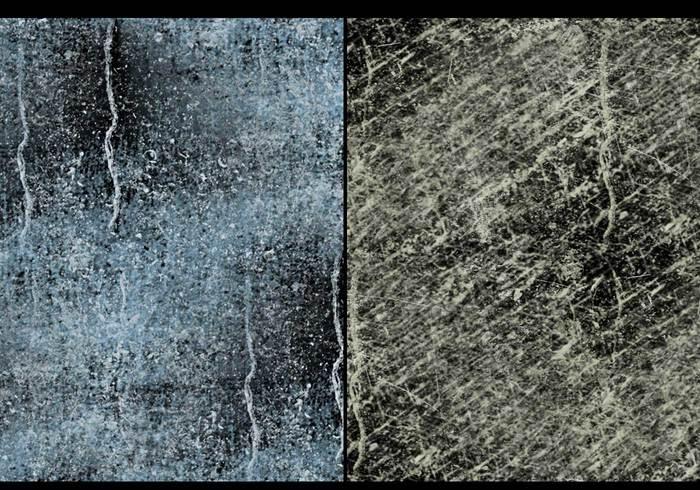 Textures de glace arctique
