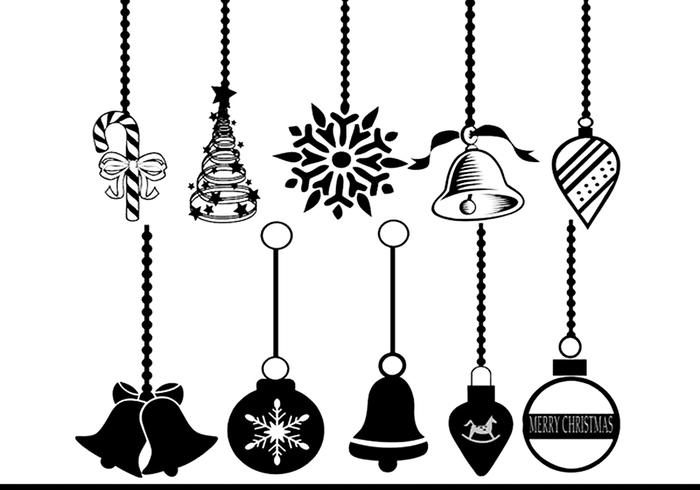 Christmas Ornament Brushes