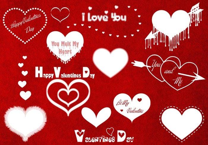 Alla hjärtans dagborstar