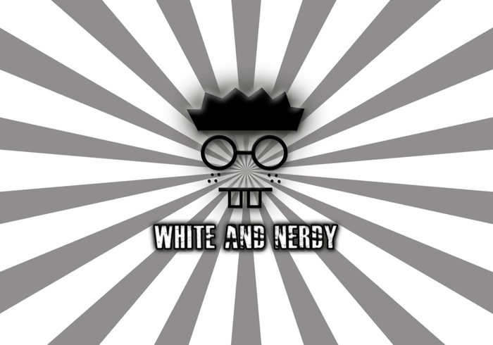 White And Nerdy Wallpaper