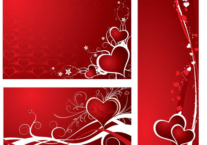 Fondo de Pantalla de Holiday Hearts Photoshop