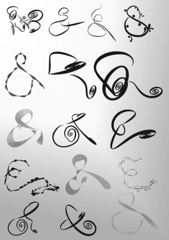 "Symbol Brush - Funky ""&"" Brushes"