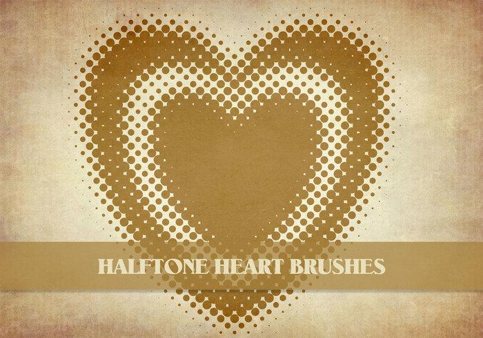 Halftone Hearts