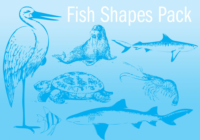 Fish Shapes Pack
