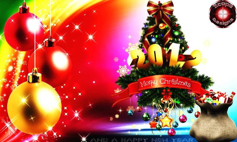Christmas PSD - Merry Christmas 2012