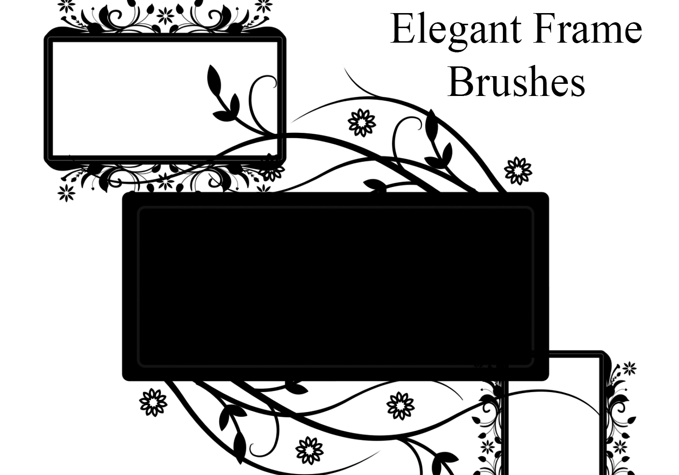 Elegant Frame Brushes Free Photoshop Brushes At Brusheezy