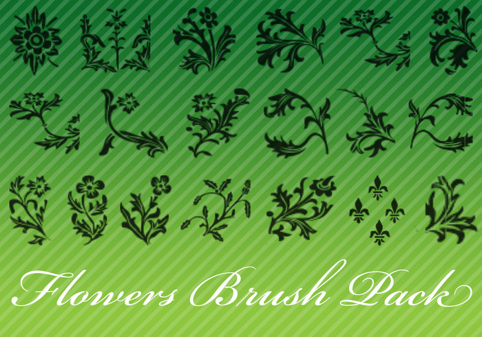 Flower Brush Pack