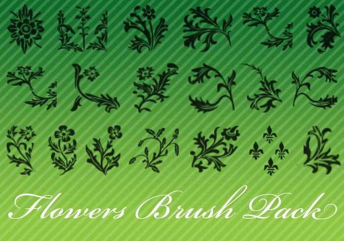 Flower Brush Pack
