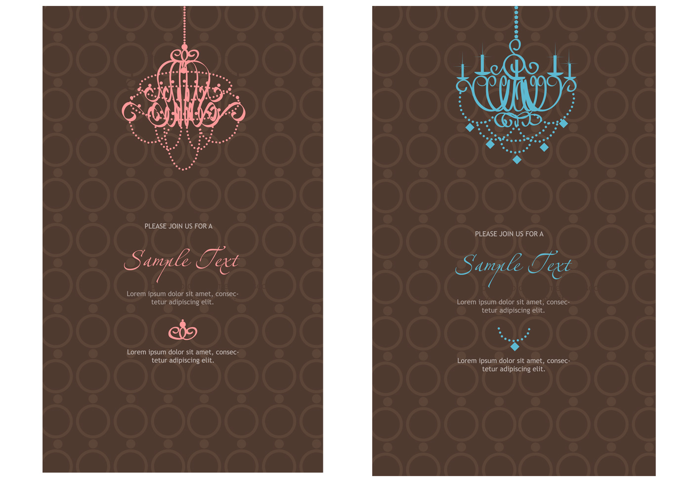 Photoshop Templates: Elegant Photoshop Invitation