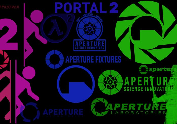 Portal & Half-Life Brush Set