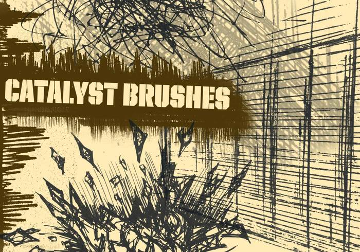 Grunge Brush Set Catalyst Scrag